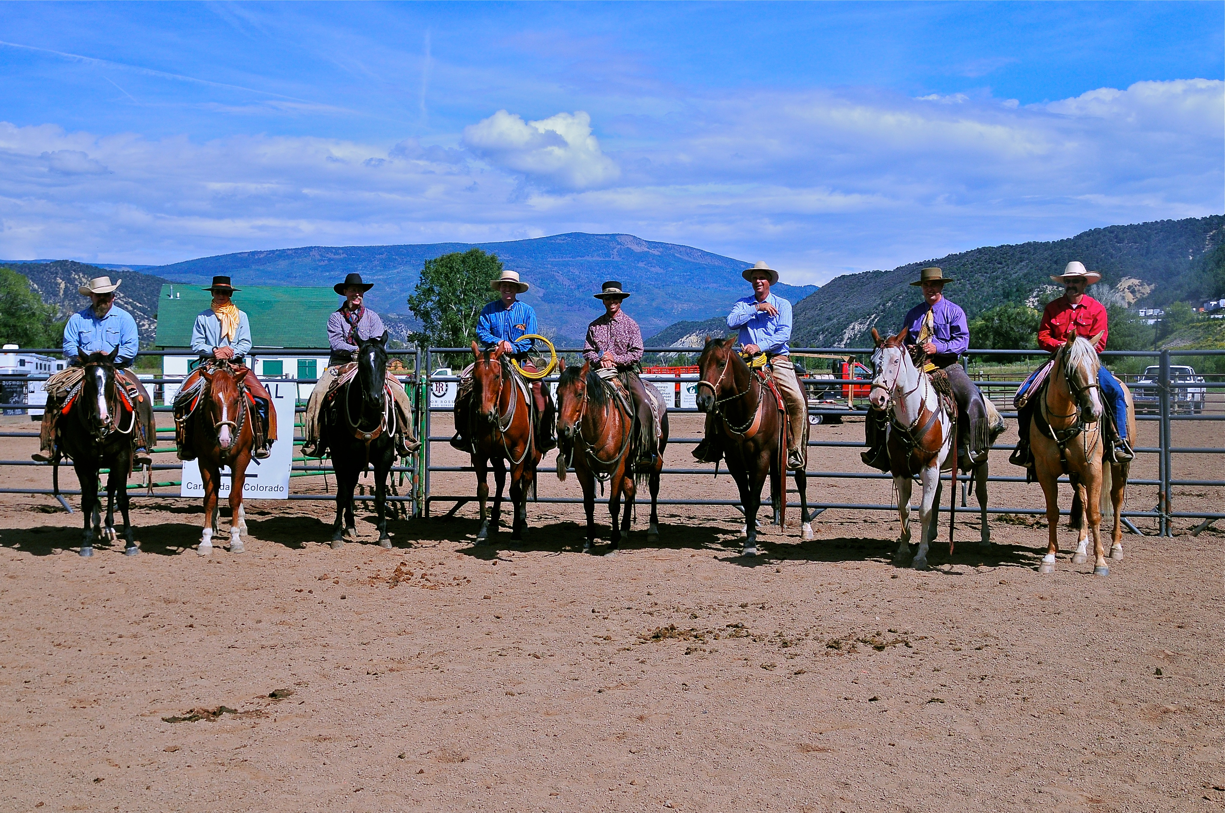 2011 Open Roping winners